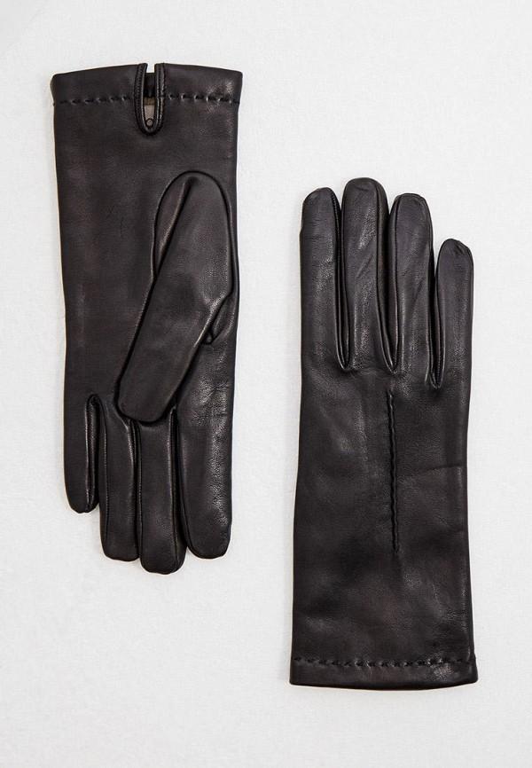 женские перчатки falconeri, черные