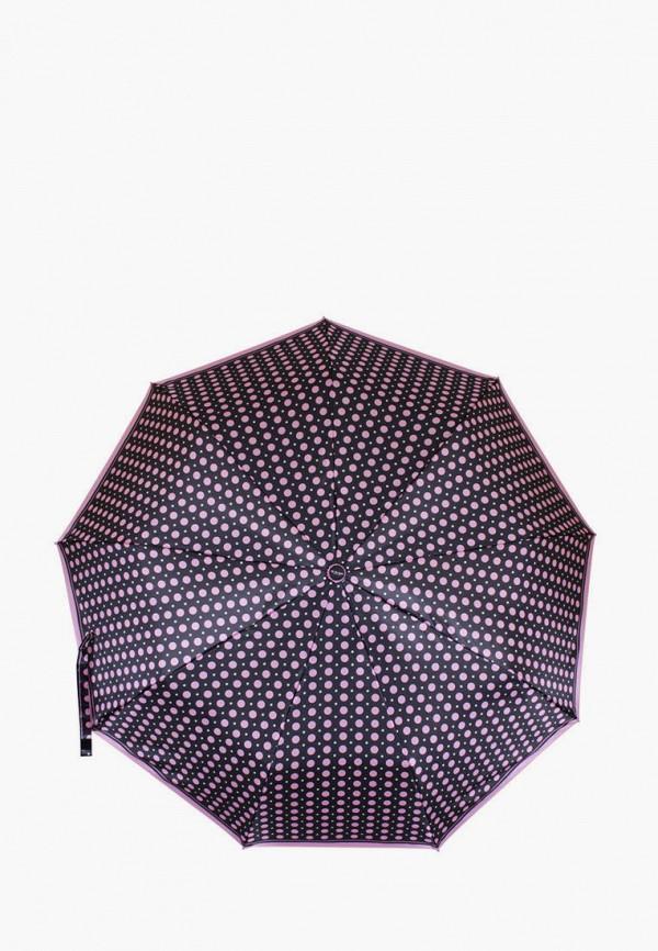 женский зонт de esse, черный