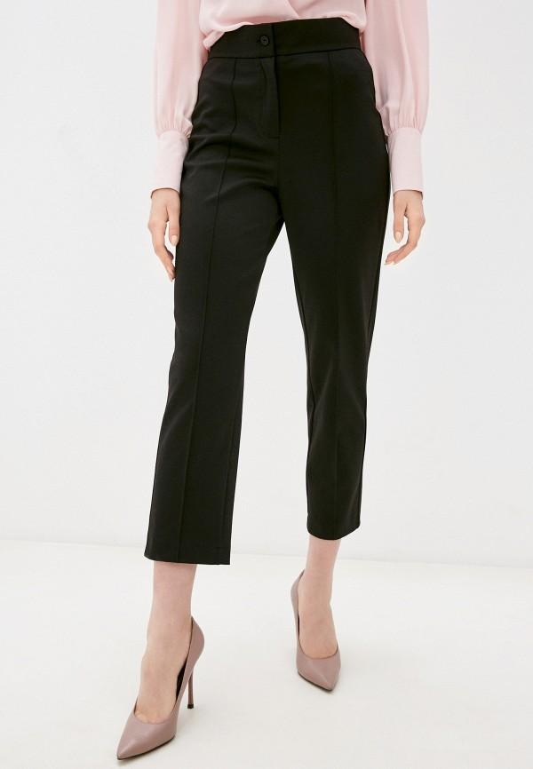 женские зауженные брюки alina assi, черные