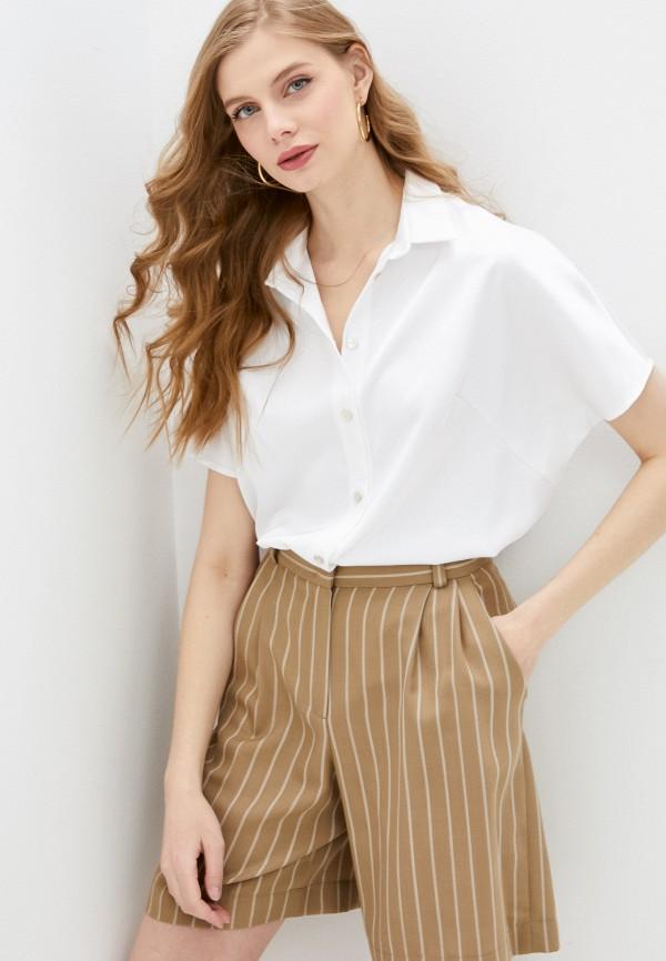 женская блузка с коротким рукавом alina assi, белая
