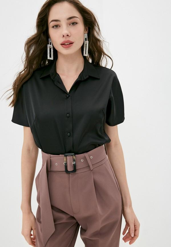 женская блузка с коротким рукавом alina assi, черная
