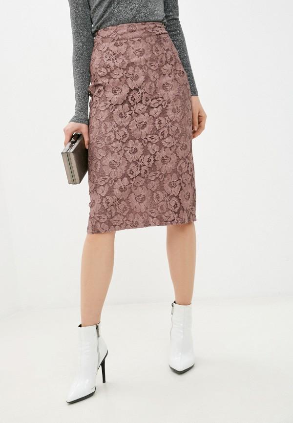 женская узкие юбка alina assi, розовая