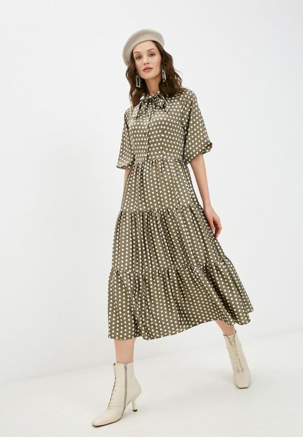 женское повседневные платье alina assi, хаки