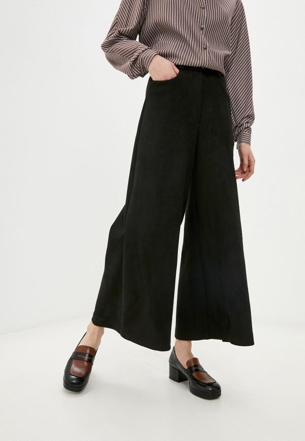 женские брюки клеш alina assi, черные