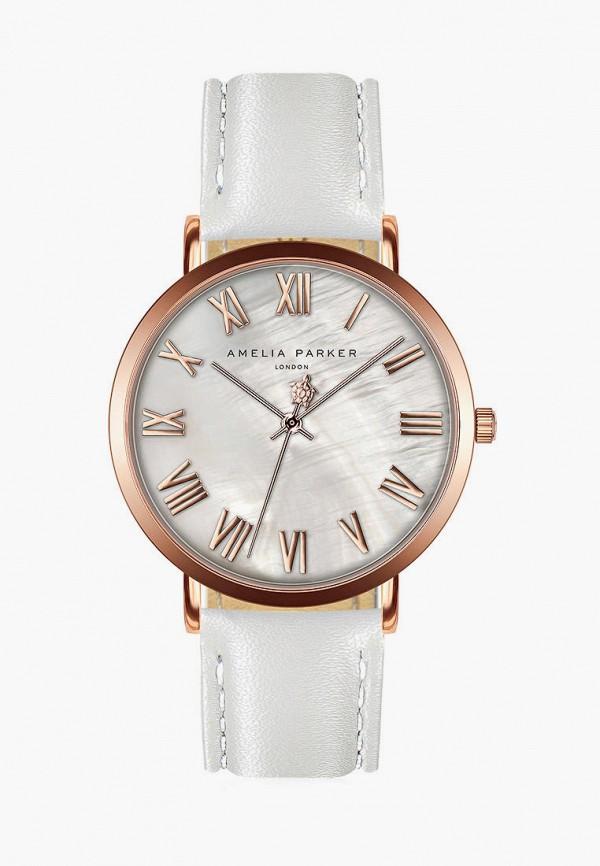 женские часы amelia parker, белые