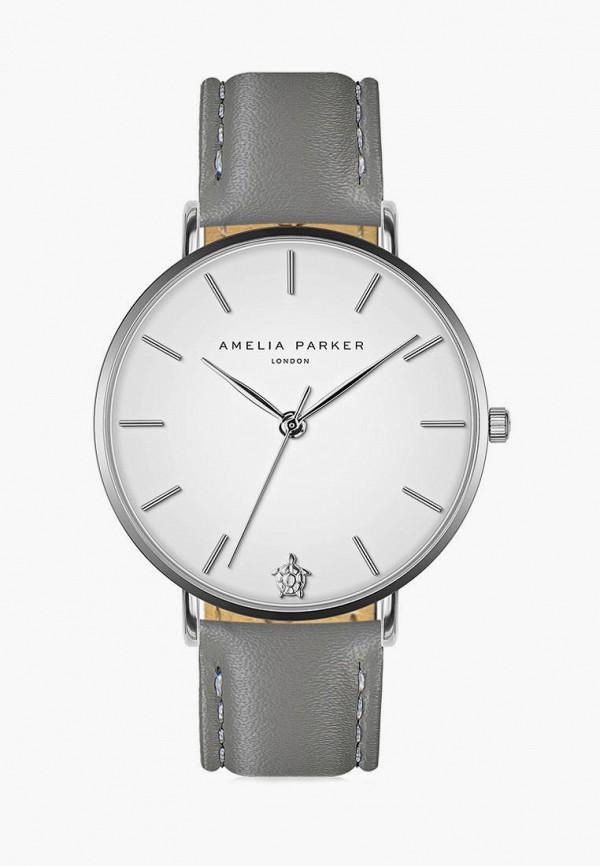 женские часы amelia parker, серые
