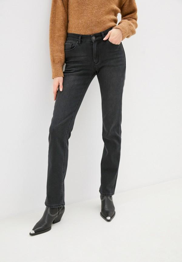 женские прямые джинсы whitney, серые