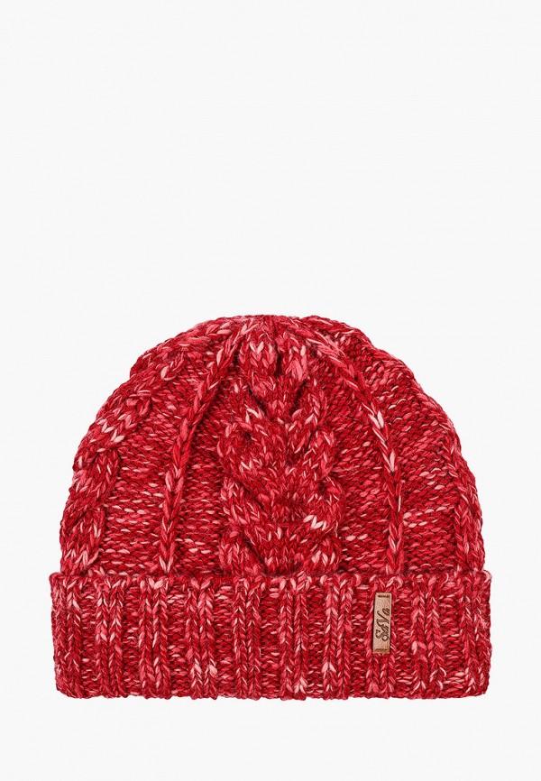 женская шапка sava mari, красная