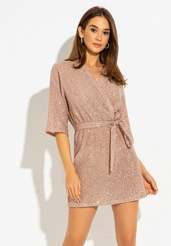 женское платье itelle, розовое