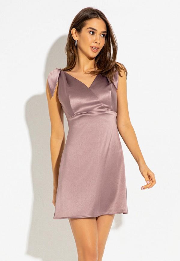 женское вечерние платье itelle, фиолетовое