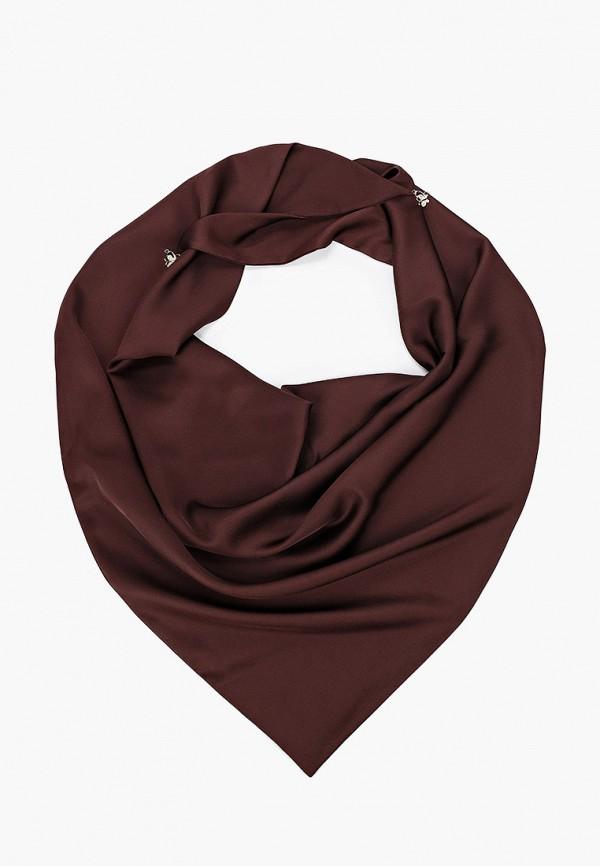 женский платок wooly's, коричневый