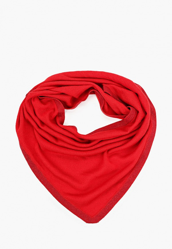 женский платок wooly's, красный