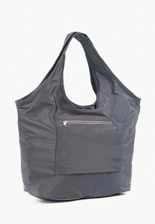 женская сумка-шоперы vita, серая