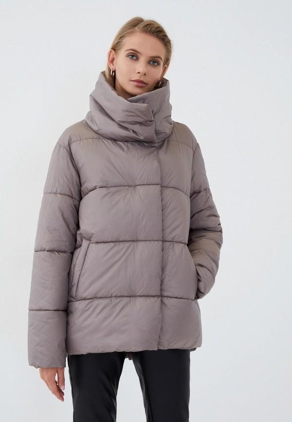 женская утепленные куртка zarina, бежевая