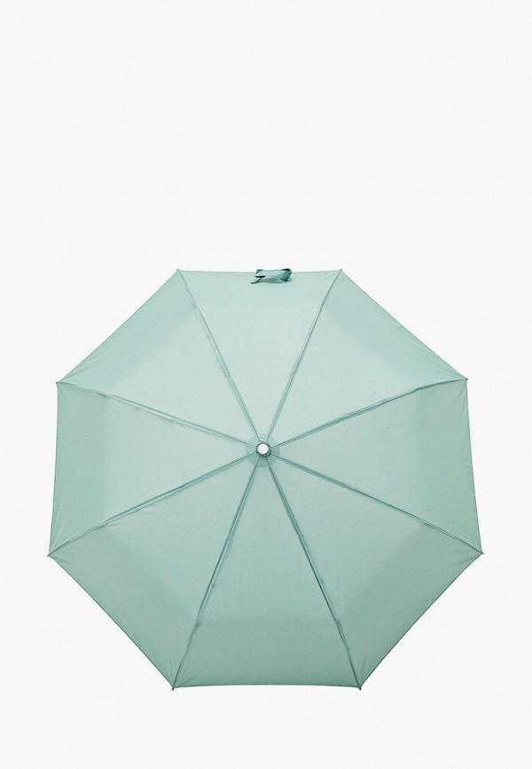 женский зонт krago, бирюзовый