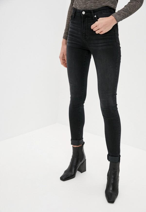 женские джинсы скинни antiga, черные