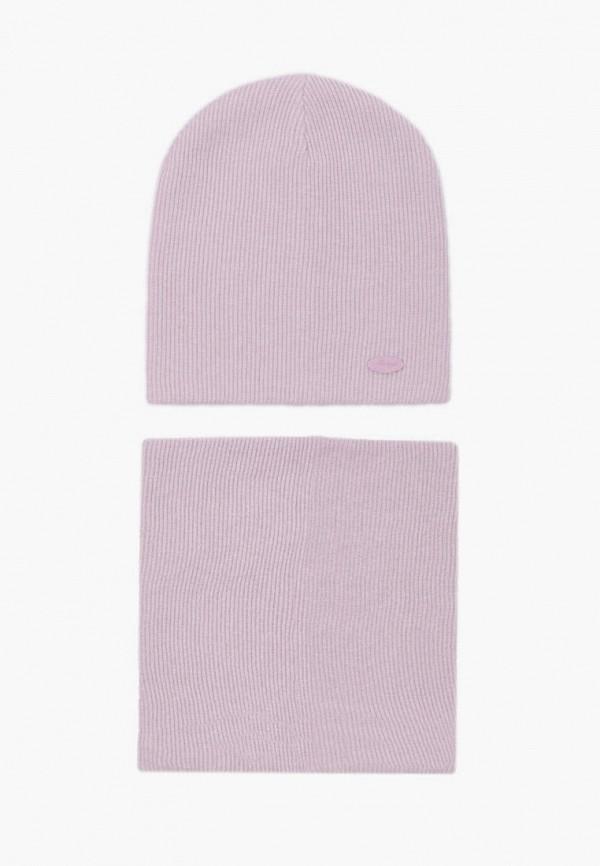 женский снуд junberg, розовый