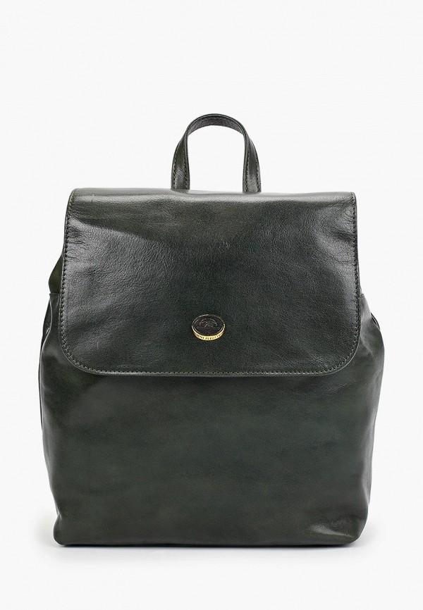 женский рюкзак tony perotti, зеленый