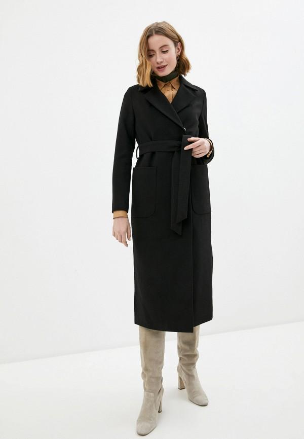 женское пальто d.jagazi, черное