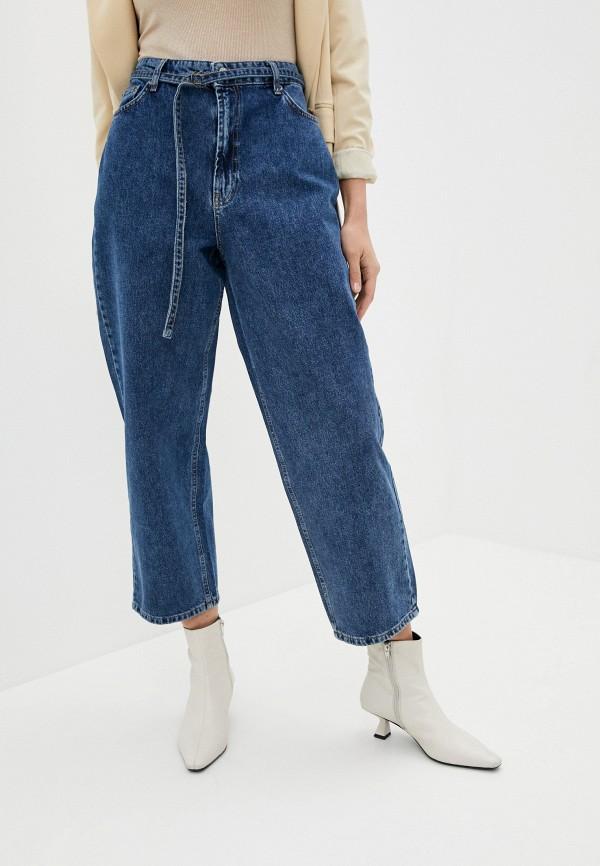 женские джинсы клеш lime, синие