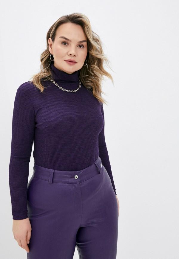 женская водолазка helmidge, фиолетовая