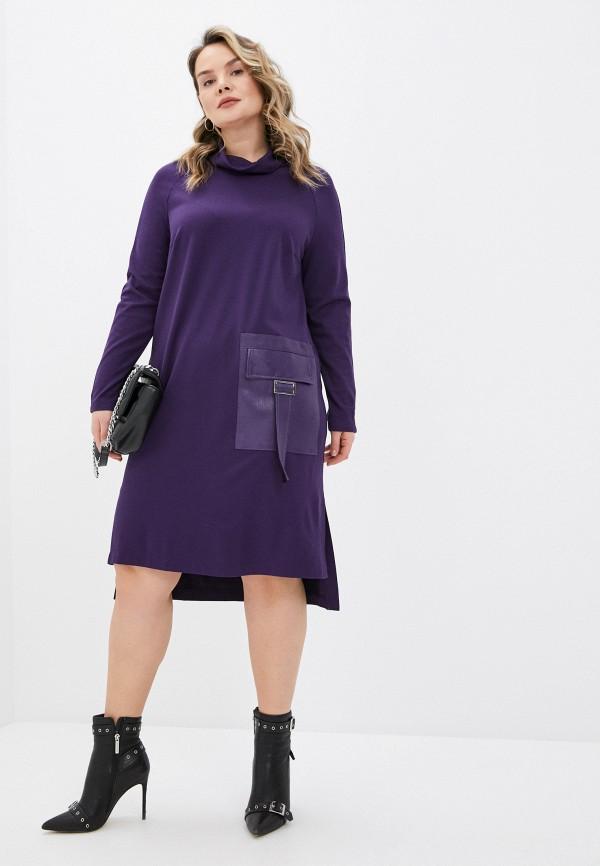 женское повседневные платье helmidge, фиолетовое