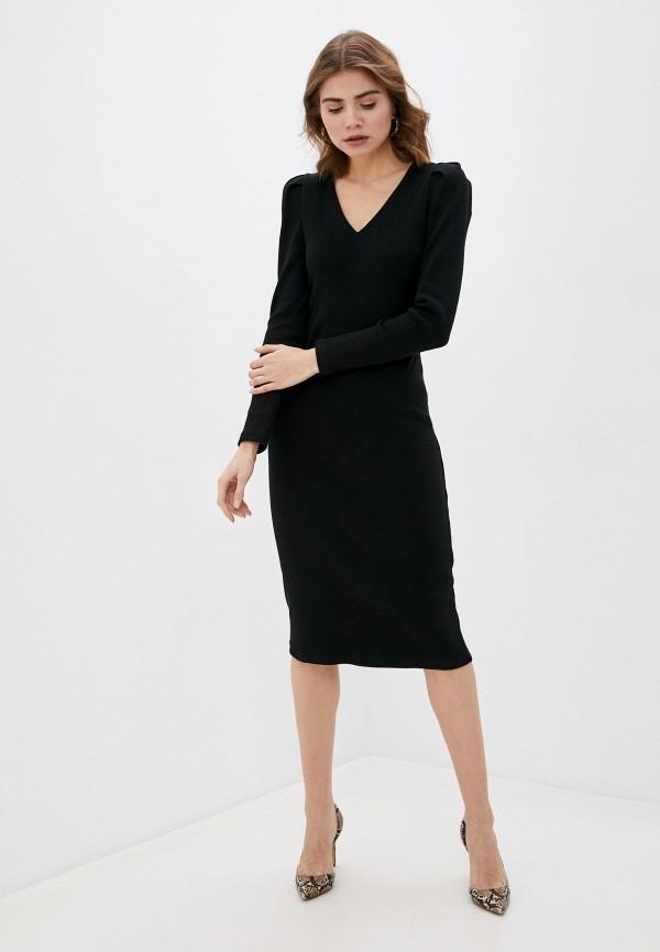 Платье Argent черного цвета