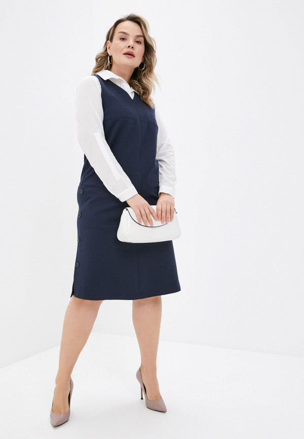 женское повседневные платье helmidge, синее
