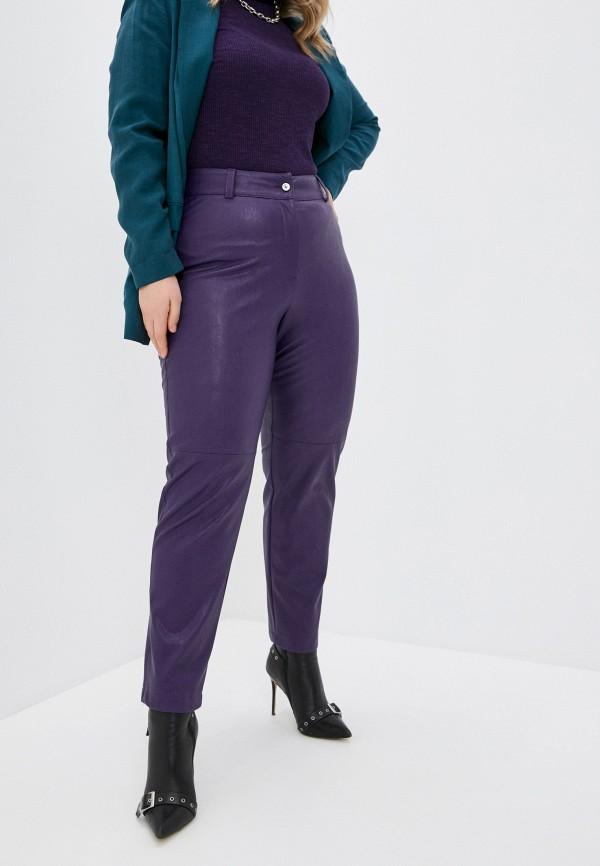 женские зауженные брюки helmidge, фиолетовые