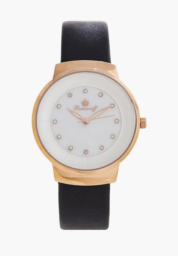 женские часы romanoff, черные