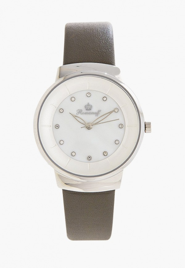 женские часы romanoff, серые