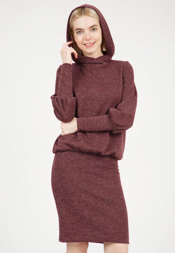 женское повседневные платье olivegrey, бордовое