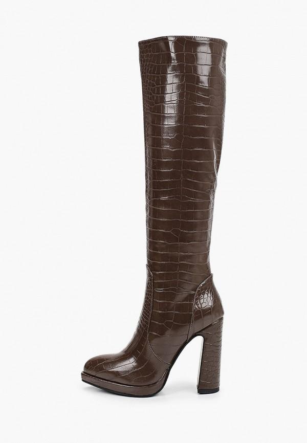 женские сапоги marco bonne', коричневые