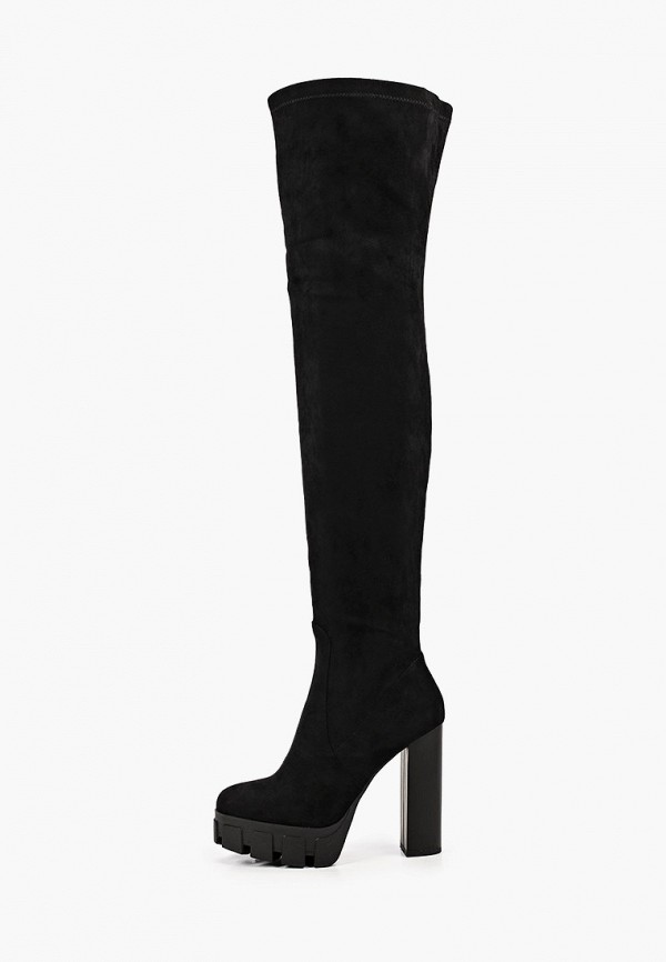 женские ботфорты marco bonne', черные