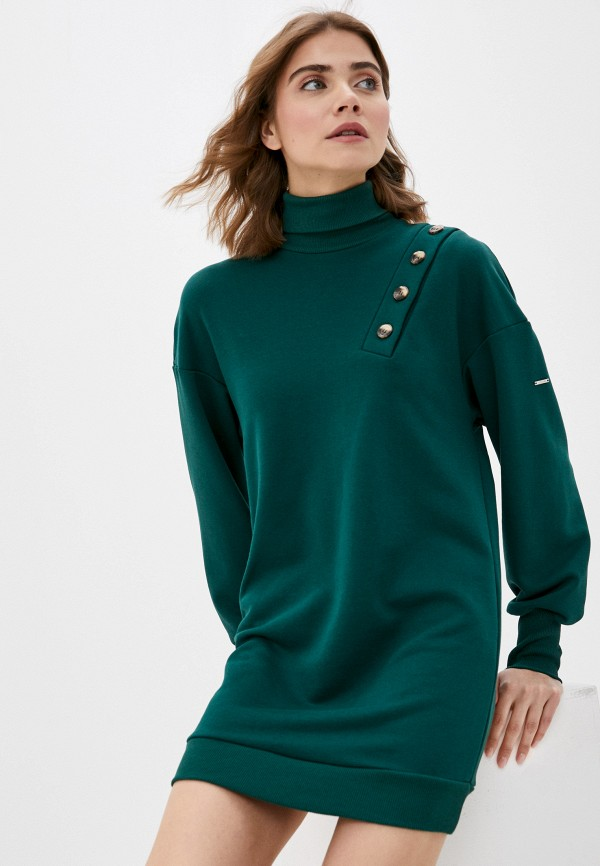 Платье Argent зеленого цвета