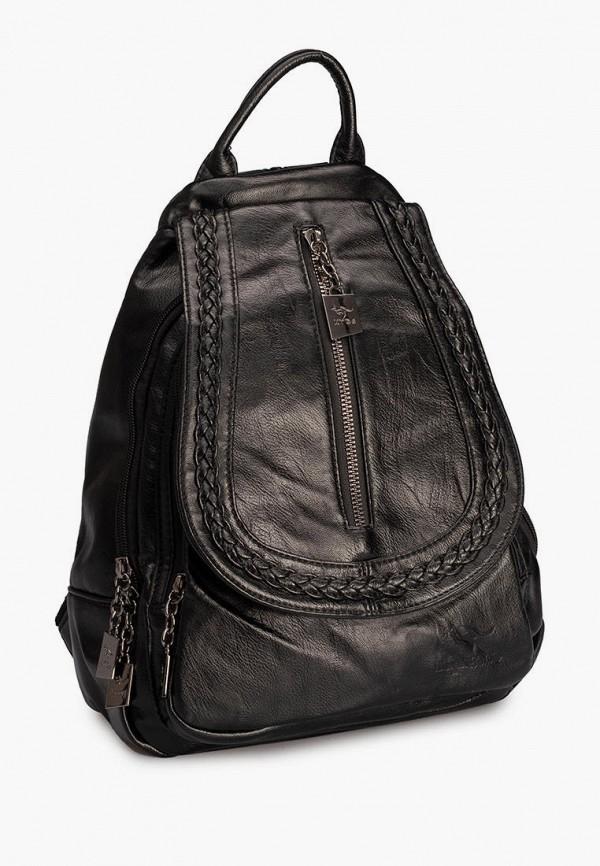 женский рюкзак sefaro exotic, черный