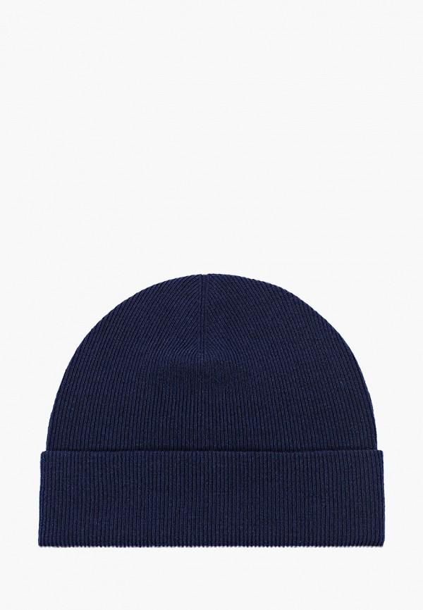 женская шапка coompol, синяя