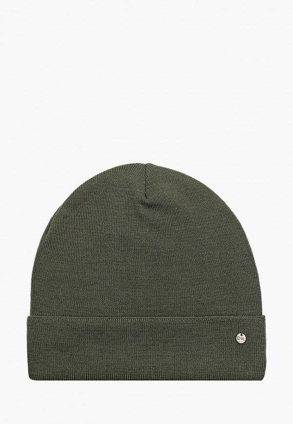 женская шапка coompol, хаки