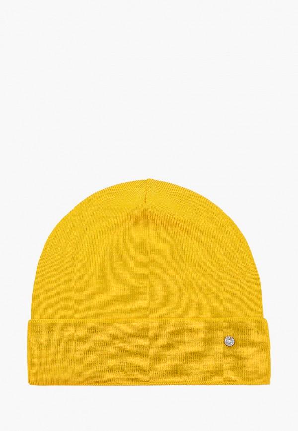 женская шапка coompol, желтая