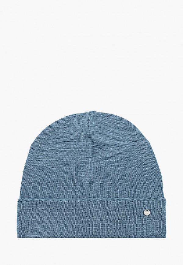 женская шапка coompol, голубая
