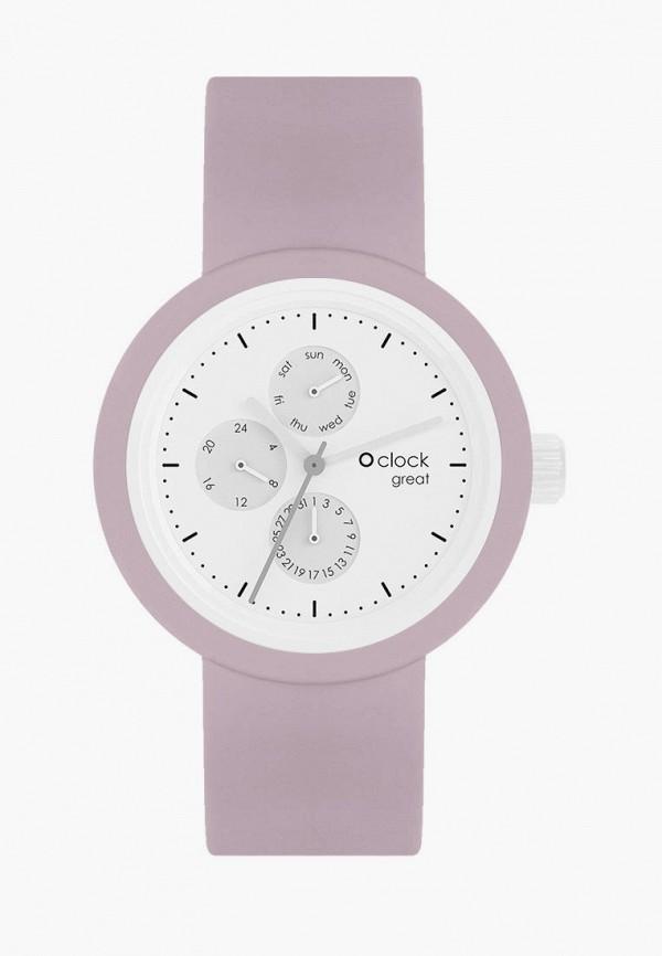женские часы o bag, розовые