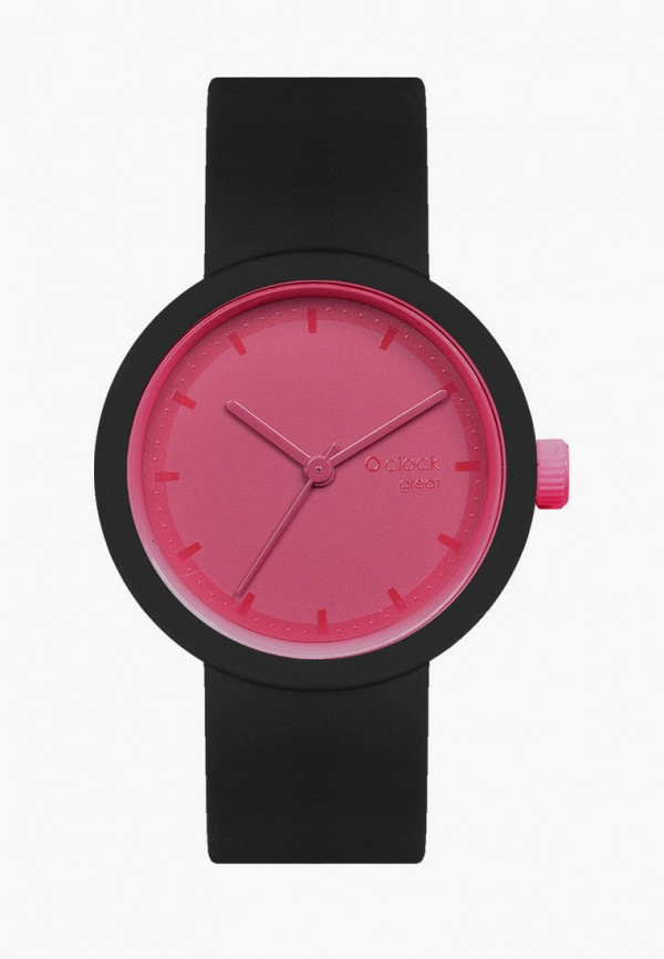 женские часы o bag, черные