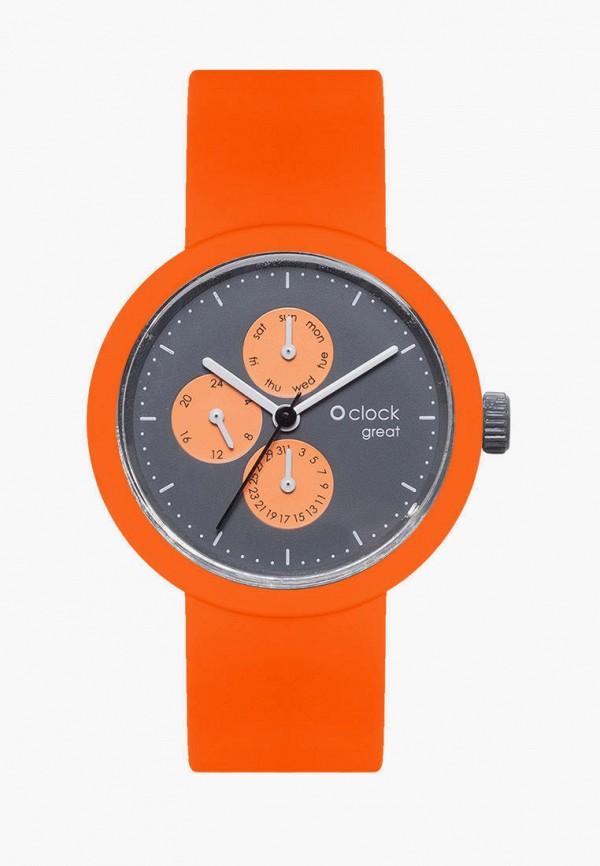 женские часы o bag, оранжевые