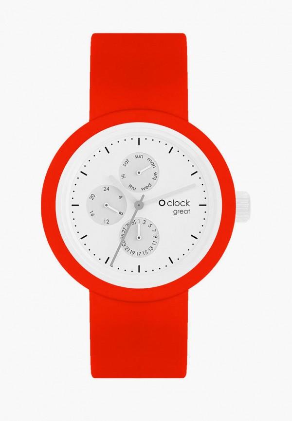 женские часы o bag, красные