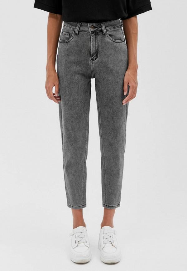 женские прямые джинсы seventeen, серые