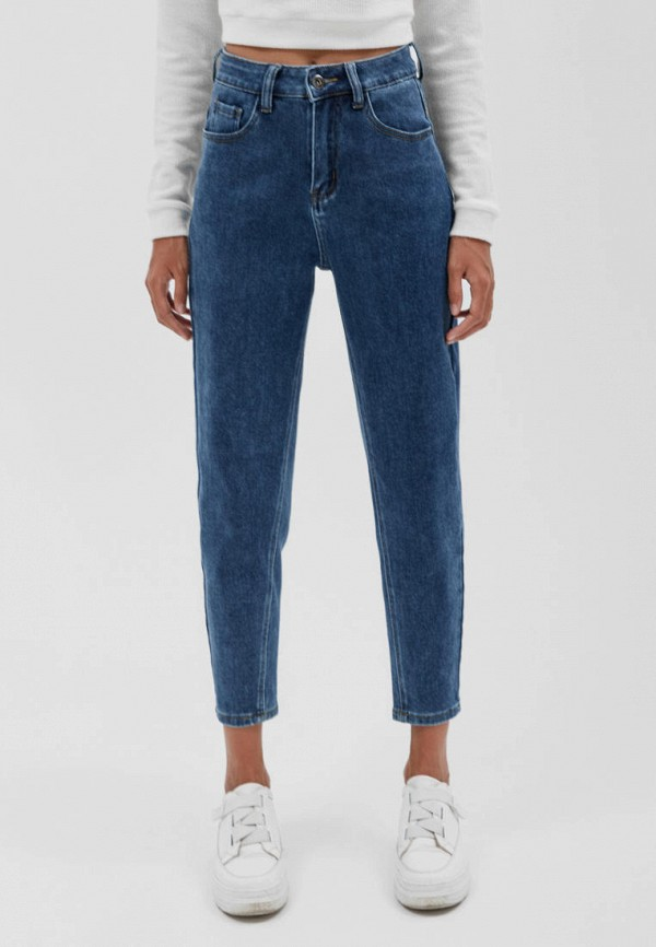 женские прямые джинсы seventeen, синие