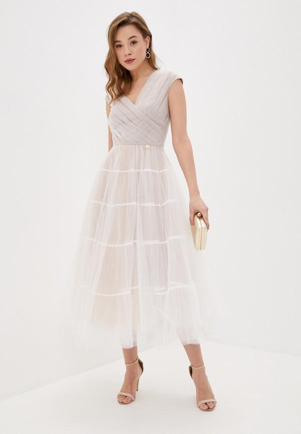 женское вечерние платье rich & naked, белое