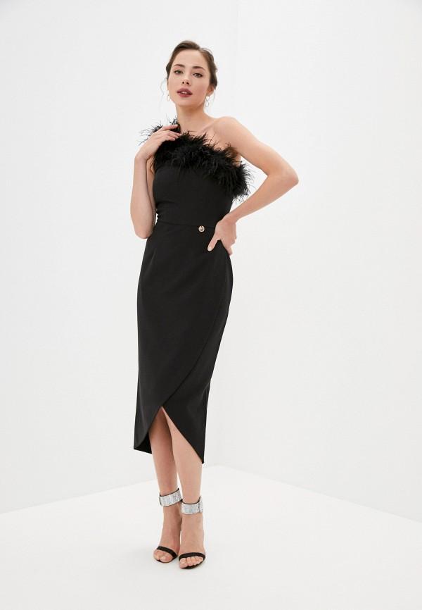 женское вечерние платье rich & naked, черное