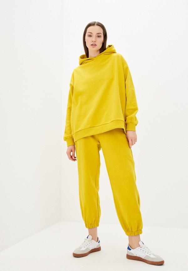 женский спортивный костюм naturel, желтый