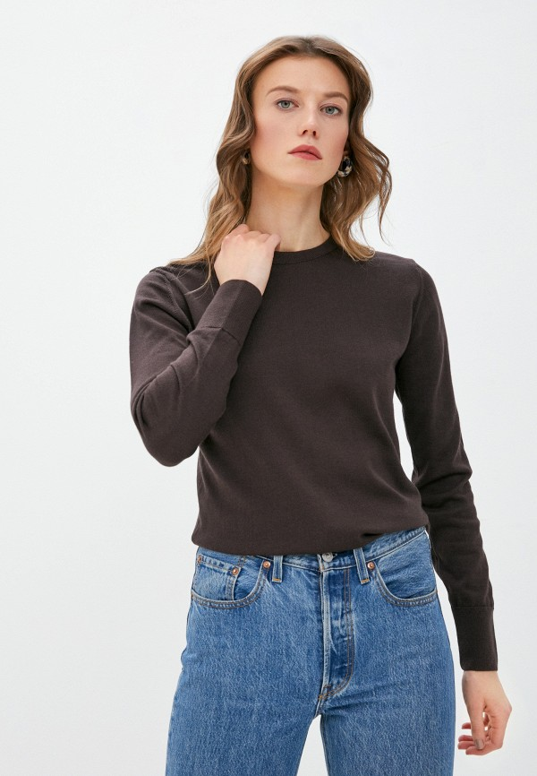 женский джемпер mark formelle, коричневый